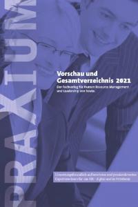 PRAXIUM Verlagsverzeichnis 2021 Cover